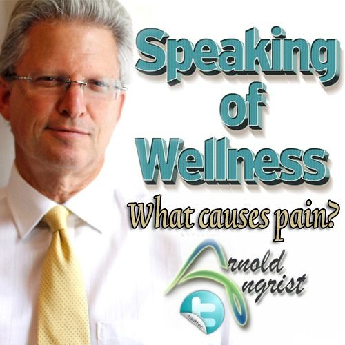 Dr. Angrist Wellness Expert - The Sequence Of Events That Cause Pain.