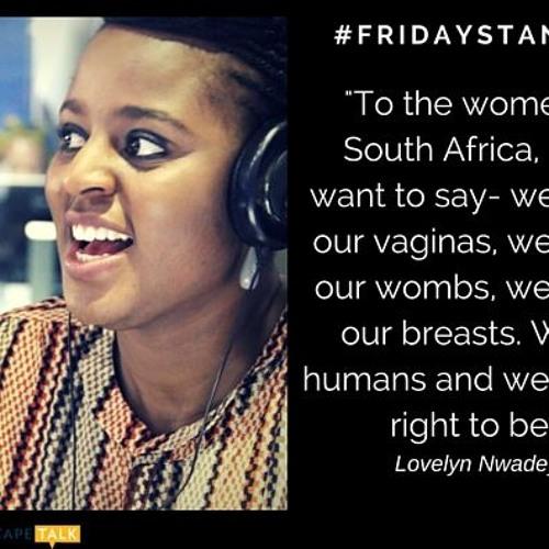 Friday Stand-In Lovelyn Nwadeyi talks rape culture