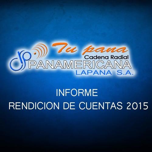 RADIO PANAMERICANA INFORME DE RENDICION DE CUENTAS 2015