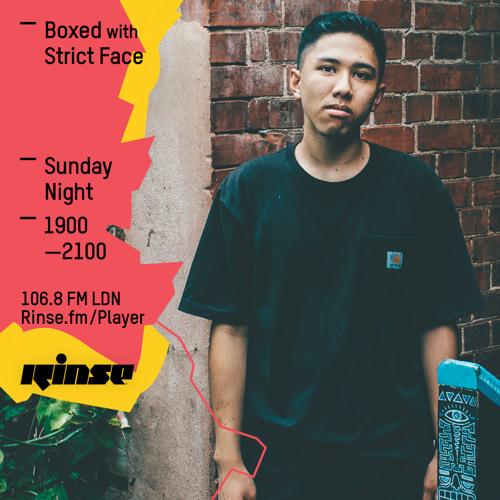 Rinse FM Podcast - Boxed w/ Slackk + Strict Face - 1st May 2016