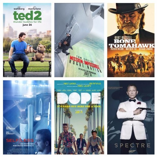 TWIF Podcast: Week 02 (Spectre, Mission Impossible Rogue Nation, Bone Tomahawk, Dope)