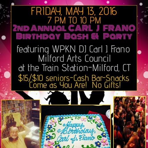 Interview with Carl J Frano- 2nd Annual Birthday Bash