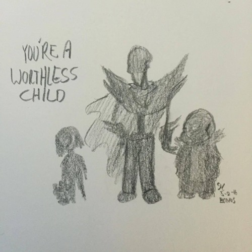 You're A Worthless Child - Underfell Sans And Papyrus [BONUS] by