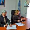 PRENSA UDC -3mayo - Di Perna, firma de convenio para capacitación en victimología