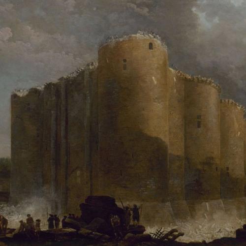 Hubert Robert. La Bastille dans les premiers jours de sa démolition