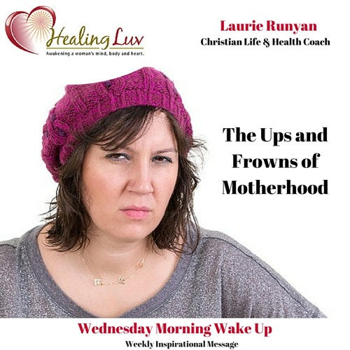 Audio 41 - The Ups and Frowns of Motherhood