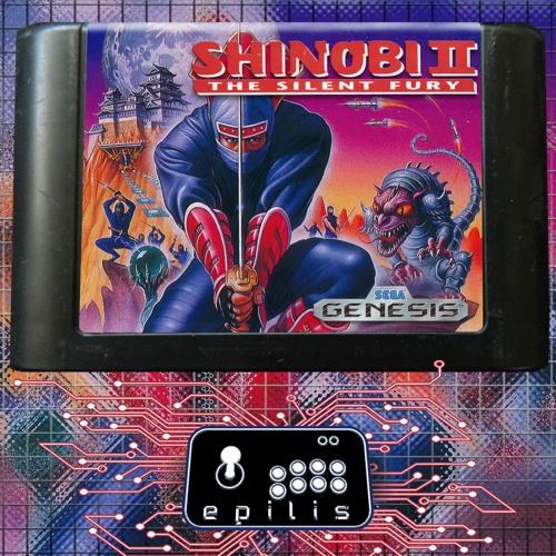 Game Gear Shinobi 2 - Building 2 (YM2612 Arrange cover)