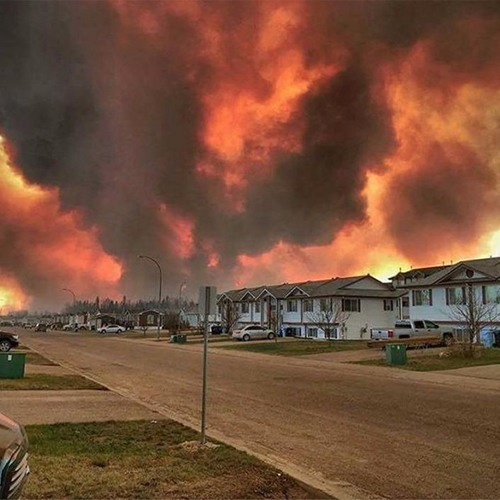 Fort McMurray Fires - Naturally