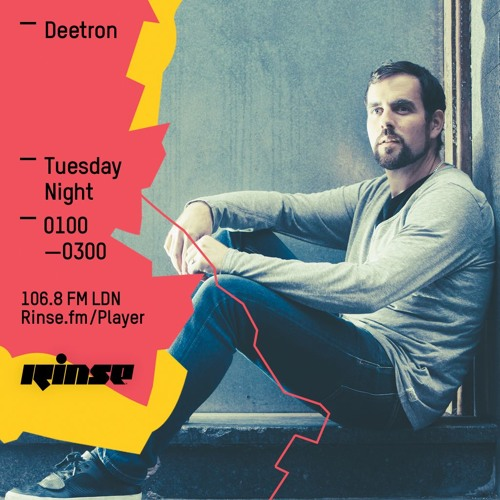 Rinse FM Podcast - Deetron - 3rd May 2016