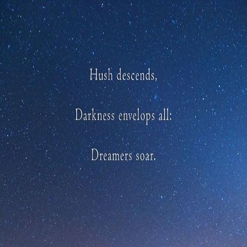Nightzone, Naviar Haiku 121 - Hush Descends