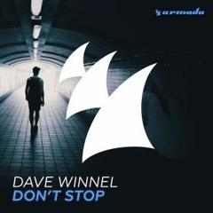 Dave Winnel - Don't Stop (Rafa Montejo Remix) [REMIX CONTEST]