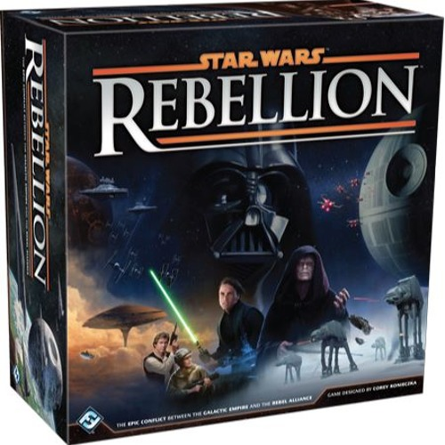 Episode 18 - Small Games, COIN Games, And Star Wars Rebellion Review