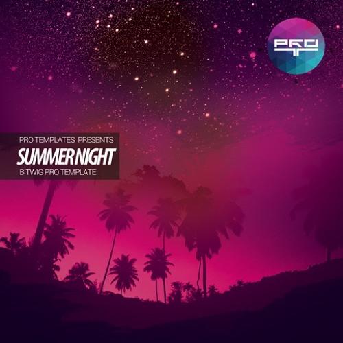 Summer Nights Bitwig Pro Template