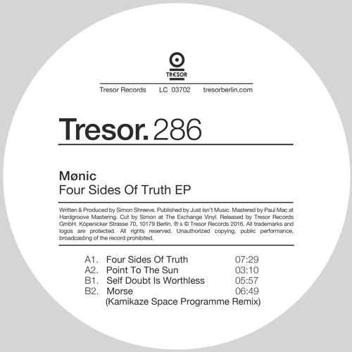 Mønic - Four Sides Of Truth EP - Tresor