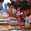 Anak-anak India Belajar Puisi di Festival Sastra