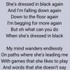 Dressed in black (demo)