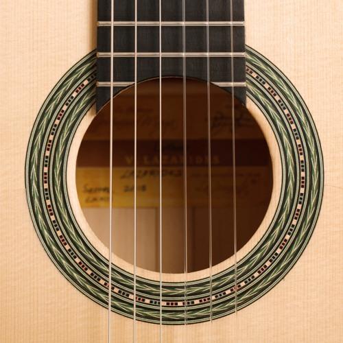 Jeronimo Maya flamenco guitar sound sample