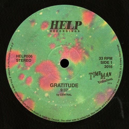 HELP006 · Gratitude b/w Ask Your Hands · Previews