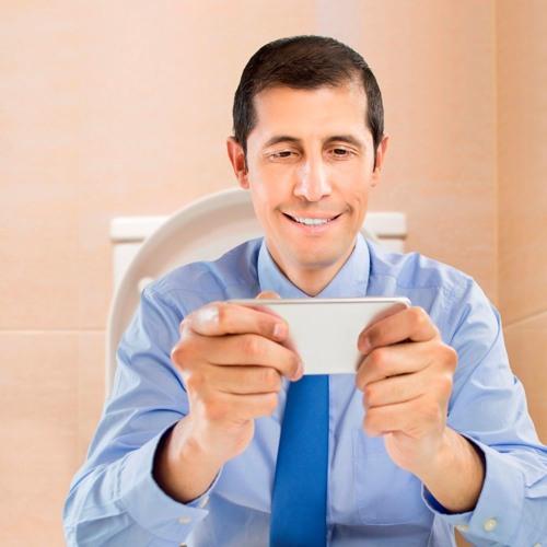 Darf man während der Arbeitszeit eine halbe Stunde auf dem WC Mails beantworten?