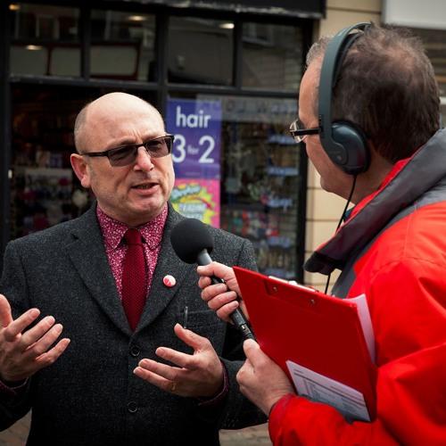 Spalding Art Trail BBC Radio Lincolnshire 22 - 04 - 16