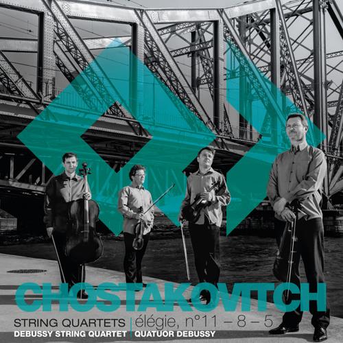 Shostakovich - Elegie (Adagio) Quatuor Debussy