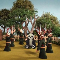 The Hood Internet - Burn The Panda (Radiohead x Desiigner)