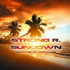 Strong R. - Sundown (Mr. Webber's Radio Edit)