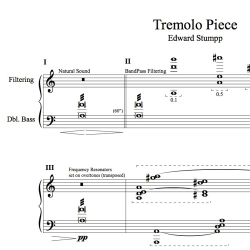 Tremolo Piece: Morrison Center Recital Hall, April 17th, 2016