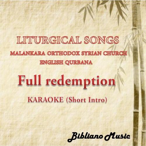 14  Full Redemption- KARAOKE (Short Intro) by Bibliano Music | Free