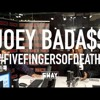 Joey Bada$$' 5 Fingers Of Death May Be The Best Of 2016! Plus He Takes Shots!