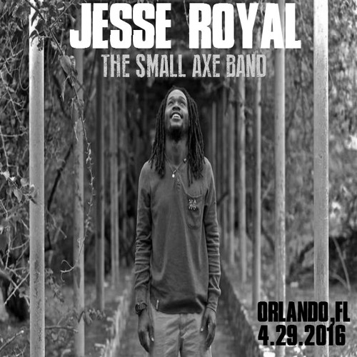Jesse Royal & The Small Axe Band Live @ Orlando 4.29.2016