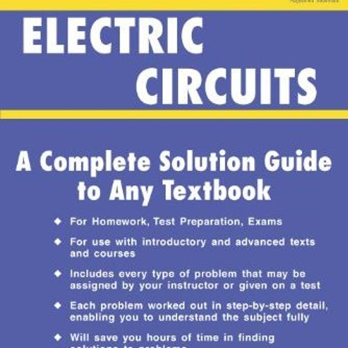 Electric Circuit Problems And Solutions Pdf