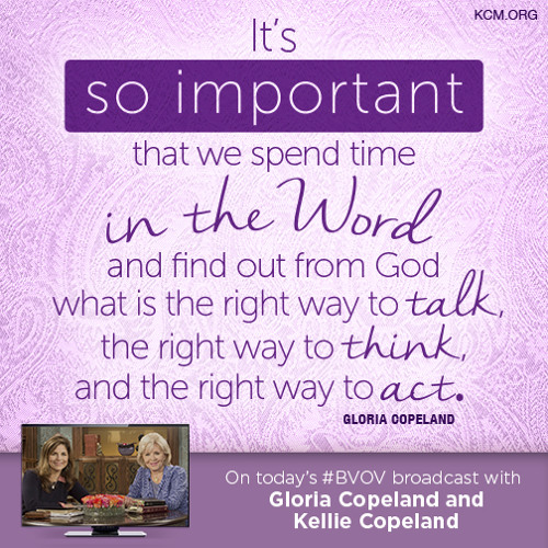 God is the source of all comfort with gloria and kellie copeland air