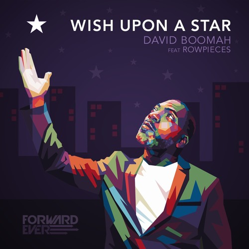 """David Boomah - """"Wish Upon A Star Feat Rowpieces"""" EP"""