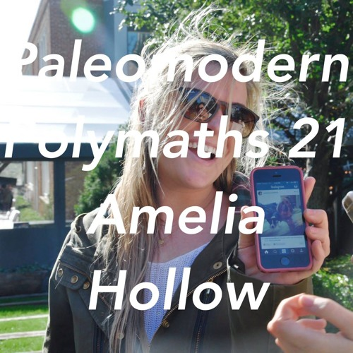 Paleomodern Polymaths 21 Amelia Hollow: How to Get Unstuck, Becoming Creative, Depression, Soberity