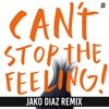 Justin Timberlake - Can't Stop The Feeling (Jako Diaz Remix) FREE DOWNLOAD Portada del disco