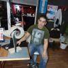 Omar Gaitán en los estudios de FM El Portal