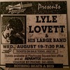 Lyle Lovett - Cleveland 8/19/92 09 - All My Love Is Gone