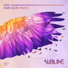 SMRFD005: Fabo - Club (Gabe Remix) [FREE DOWNLOAD]