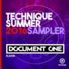 Document One - Klaxon - [Technique Summer 2016 LP Sampler]
