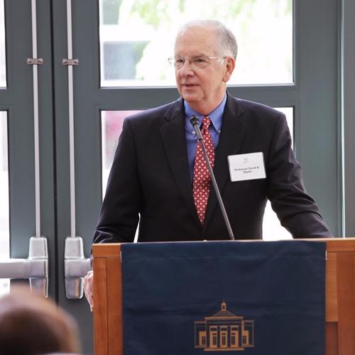 Retiring Professor David Martin Reflects on His Time at UVA Law