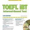 Barron s TOEFL iBT Internet-Based Test, 12th Edition  download pdf