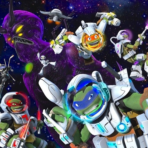 TMNT Turtles In Space - Nickelodeon Game