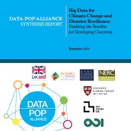 Experts Speak: Big Data for Climate Change and Disaster Resilience
