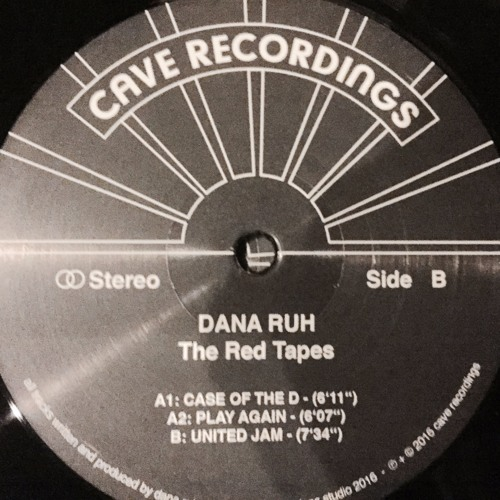 Dana Ruh - The Red Tapes EP (CR001)