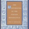 The Universities of the Italian Renaissance  download pdf