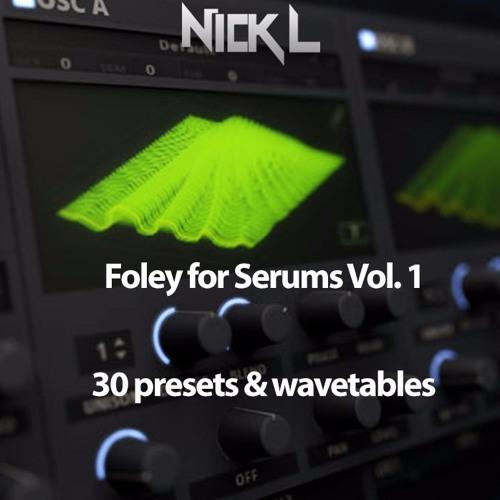 pumpyoursound com   FREE Foley Serum Presets & Wavetables