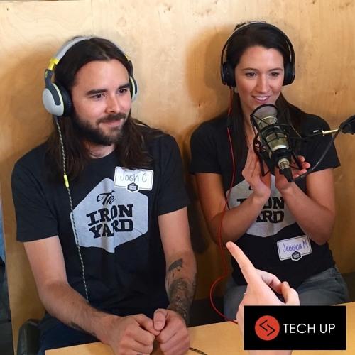 Jessica Mitsch & Joshua Cournoyer at TechUP Nashville 2016