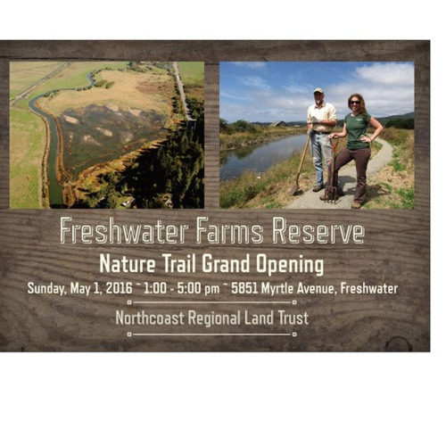 Freshwater Farms Nature Trail Grand Opening - Kerry McNamee on KHUM 4/26/16