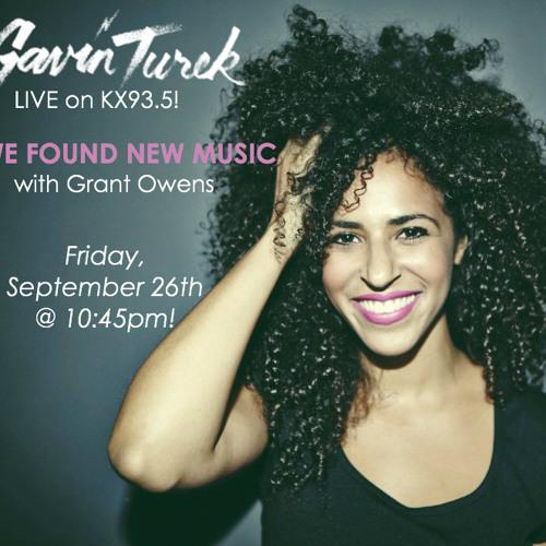 9/26/14 Gavin Turek Live Radio Performance - WE FOUND NEW MUSIC